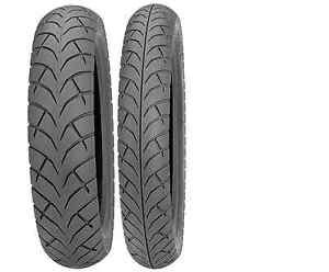 HONDA REBEL 250 MOTORCYCLE TIRE SET. TWO TIRES SHIPPED TO YOUR DOOR FOR FREE!