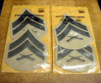 USMC Marine Corps Uniform Rank Patch Lot