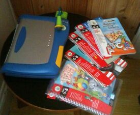 Leap pad with games and bag
