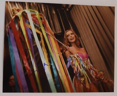 Frida Gustavsson Signed Autographed 11x14 Photo Victoria's Secret Model COA VD
