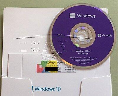 Microsoft Windows 10 Pro PROFESSIONAL 64Bit FULL VERSION*