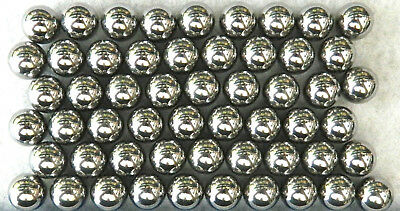 12 Oz 532 Inch Chrome Steel Balls Approx 50 Count Free Shipping