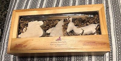 Pottery Barn Kids Paint An Ornament Wood Unfinished Set DIY New ()