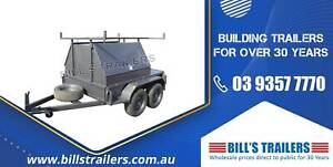 8x5 Half Tradesman Trailer - 3ft Space At The Back