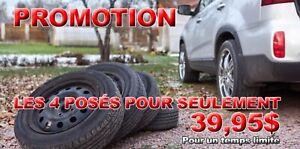 Pose & balancement des roues