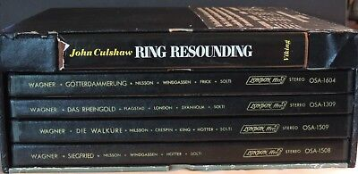 Wagner's COMPLETE 'RING' Cycle -19 lp- in 1 box set --Special edition with book
