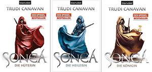 Sonea, Band 1,2,3, Die Hüterin, Die Heilerin, Die Königin, von Trudi Canavan