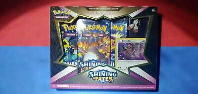 Pokemon Shining Fates Mad Party Pin Collection Bunnelby Factory Sealed❗
