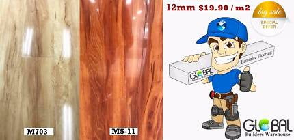 Laminate special Deal 12mm $19.90 / m2
