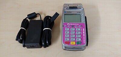 Verifone Vx520 Credit Card Pos Terminal Dialethctls W Swipe Emv Chip Reader
