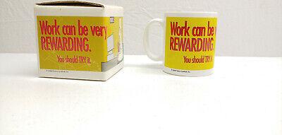 NEW 1995 Dilbert Comic Strip Collectable Coffee Tea Worker w/ Orig Box CHRISTMAS ()