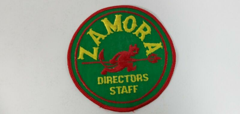 "Zamora Shriners Directors Staff Patch 3 7/8"""