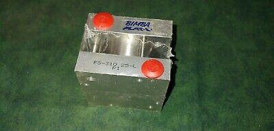Bimba Flat-1 Air Cylinder Fs-310.25-l 2 Bore 14 Stroke 24667-a12