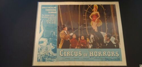 1960 Original Circus of Horrors Lobby Card #6...60/145