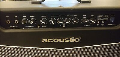 Acoustic G120 Dsp amp