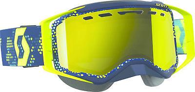 Goggle Prospect Snow Yellow/Blue Amp Yellow Chrome Lens Scott 262581-1300325