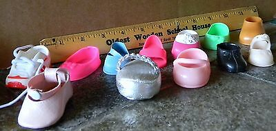 IZO LEATHER SINGLE DOLL SHOES LOT OF 12 REDUCED!