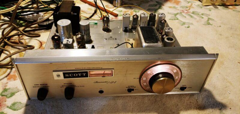 Vintage! H.H. Scott stereo tube FM tuner, model LT110B. Works