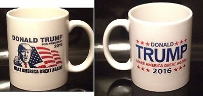 Donald Trump 2016 Coffee Mug Make America Great Again