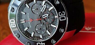 50 mm Swiss Legend Lionpulse Chronograph Men's Watch 10616SM-01-RDA