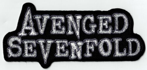 AVENGED SEVENFOLD - LOGO - IRON or SEW-ON PATCH