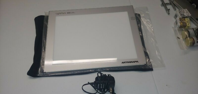 Artograph LightPad LX 930 9x12 Inch Adjustable Brightness Art Tracing Light Box