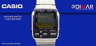 VINTAGE CASIO DB-2000 AKA.HOTBIZ. QW.1498. JAPAN . AÑO 1995 MEMORY PROTECT 200.