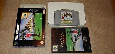 Waialae country club nintendo 64 N64 Complete Very good condition! PAL-GAME