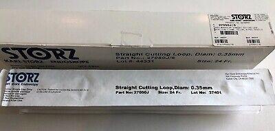 Storz 24fr Straight Cutting Loop 0.35mm Ref 27050j 10pcs