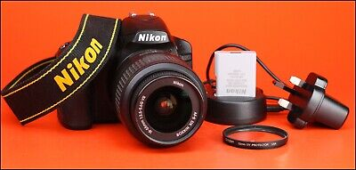 Nikon D3200 DSLR Camera + Nikon 18-55mm VR Zoom Lens Kit -Only 9,202 Shots Taken