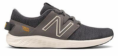 New Balance Men's Fresh Foam Vero Racer Shoes Grey with Black & Tan