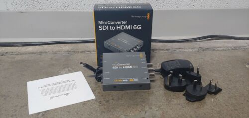 Blackmagic Design SDI to HDMI 6G Mini Converter - LUT Programmable; Gently Used
