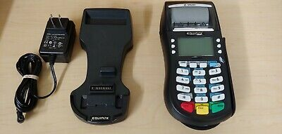 Hypercom Equinox M4230 Wireless Credit Card Terminal With Stand D4210