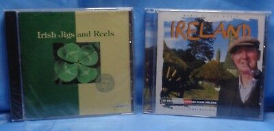 World Music Original Folksongs from IRELAND & Irish Jigs and Reels 2 CD Lot ()