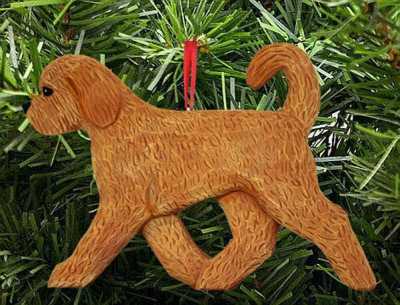 Goldendoodle Ornament Apricot