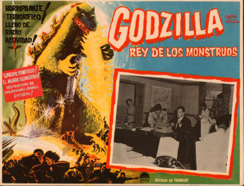 Godzilla King of the Monsters  Mexican  Lobby Card
