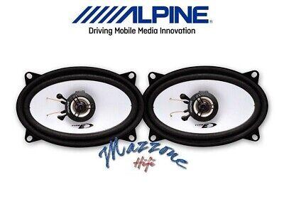 Alpine SXE-4625S Set 2 Arcas Altavoces Óvalos Porsche 944 Altavoces Coche