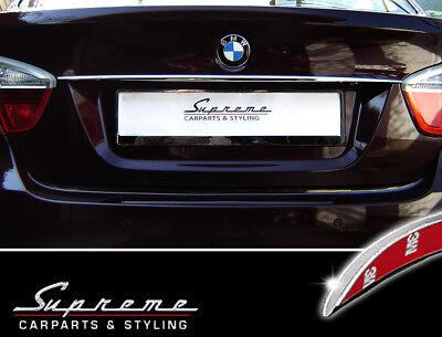 BMW 3er E90 Limousine 2005-2011 Chrom Zierleiste 3M Tuning Heckleiste Typ3