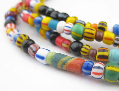 African Mixed Ghana Chevron Beads Ghana