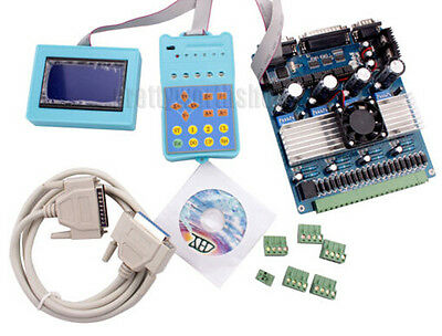 Cnc 4 Axis Tb6560 Stepper Motor Drive Boardlcd Displayremote Controller Kit