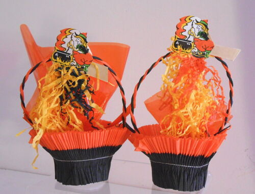 Two Vintage Halloween Nut Cups