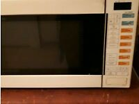 Microwave combi oven grill