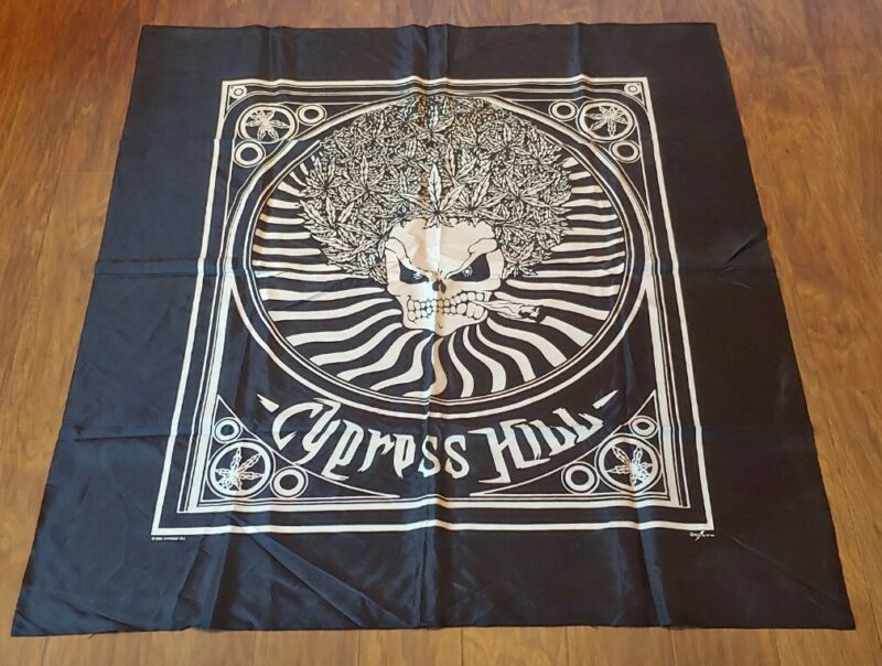 Vintage Hip Hop Cypress Hill Tapestry Silk Banner 1993 Nikry Co Inc.