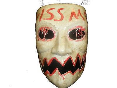 The Purge 3 Kiss Me Halloween Maske Wahl Jahr Kostüm Kostüm 1 2 Neu