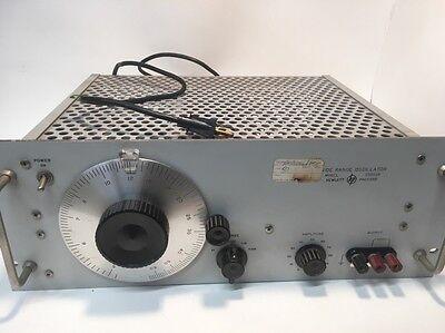 Hewlett Packard Wide Range Oscillator 086-200cdr