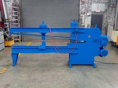Blue Valley 60 Circle Shear 38 Capacity 15-123 Diameter Tank End Cutter