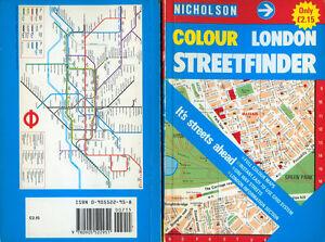 """NICHOLSON """" COLOUR LONDON STREETFINDER """" ANNO 1985 - Italia - L'oggetto può essere restituito - Italia"""