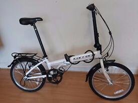 Brand New Carrera Transit Folding Bike with lock - Perfect Xmas Gift £265
