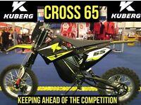 Kuberg kids electric motocross bikes