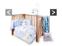 Claire de lune Ahoy nursery set